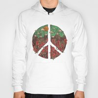 landscape Hoodies featuring Peaceful Landscape by Hector Mansilla