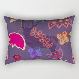 Deer and flower 6 Rectangular Pillow