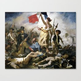 Lady Liberty of the French Revolution Canvas Print
