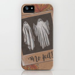 Ghostie Selfie iPhone Case