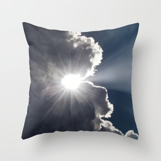 A Small Glimpse of His Glory Throw Pillow