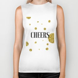 Champagne Quotes Cheers POP FIZZ CLINK Sign Printable Art Foil Print Gold Foil Alcohol Quote Biker Tank