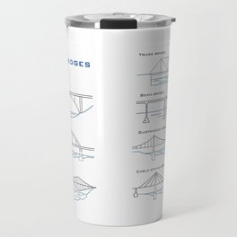 Types of bridges Travel Mug