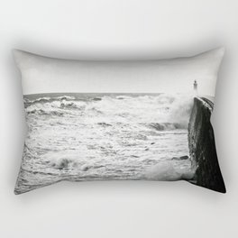 Landscape English Pier Rectangular Pillow