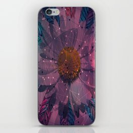 Geometric Flower iPhone Skin
