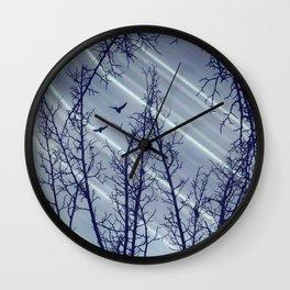 Polarized Light Wall Clock