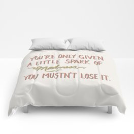 Spark of madness Comforters