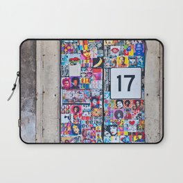 The Secret behind the Door Number 17 of Catania - Sicily Laptop Sleeve