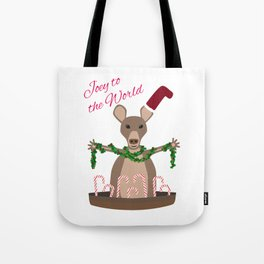 Joey to the World Tote Bag