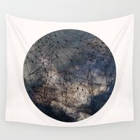 gravity Wall Tapestries featuring Gravity by Louise Donovan