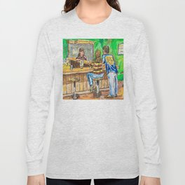 A Night At Point Ybel Long Sleeve T-shirt