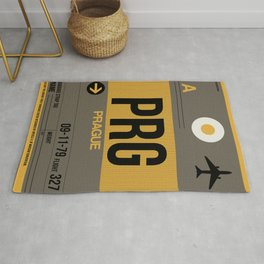 PRG Prague Luggage Tag 1 Rug