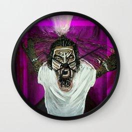 TecN9neWhirlwind Purple Wall Clock