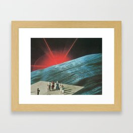 Ho-Hum Phenomena Framed Art Print