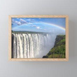 Victoria Falls , Africa, Zambia, Zimbabwe Framed Mini Art Print