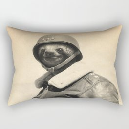 General Sloth Rectangular Pillow