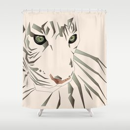 Tiger's Tranquility Shower Curtain