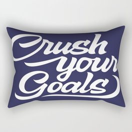 Crush Your Goals Rectangular Pillow