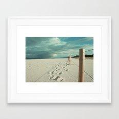 · Follow me · Digital Photography colour. Framed Art Print