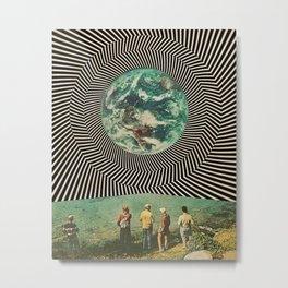 Earth vision Metal Print