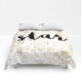 Golden Stars Comforters