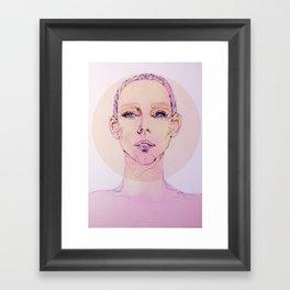 Pink Skin Framed Art Print