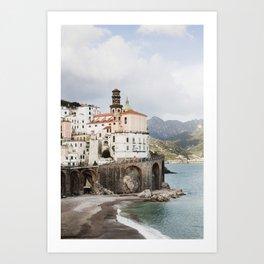 Amalfi Coast, Atrani Art Print