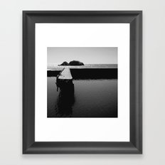 Sutro Baths Framed Art Print