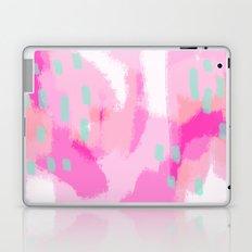 amelia - Pink Abstract Digital Painting Laptop & iPad Skin