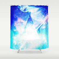 prism Shower Curtains featuring prism by Alyxka Pro