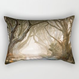 The Dark Hedges - GoT - Co. Antrim - Northen Ireland Rectangular Pillow