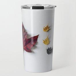 Fall in Words Travel Mug