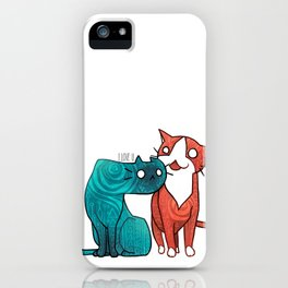 I love U iPhone Case