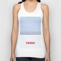 fargo Tank Tops featuring Ice Scraper by Cameron Chapman