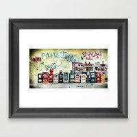 The Posts Framed Art Print