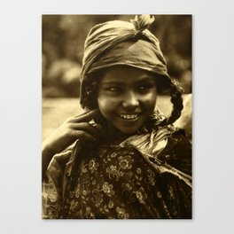 Vintage Photo Canvas Print