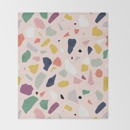 Big Terrazzo Throw Blanket