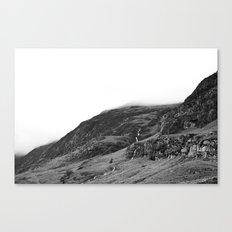 Mountains, Highlands, Scotland. Canvas Print