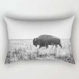 Bison strut Rectangular Pillow