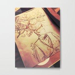 #SaveTheDay Sketches - The Era Eleven Metal Print