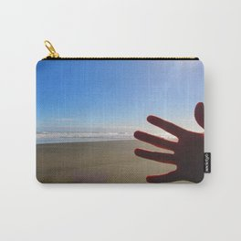 Hand Photobomb Carry-All Pouch