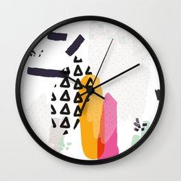Heading towards confusion Wall Clock
