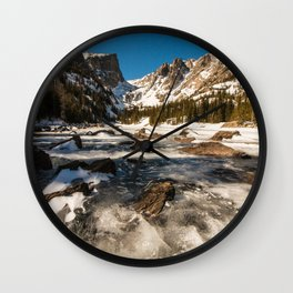 Dream Lake Wall Clock