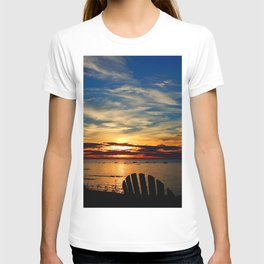 Peace and Relaxation at the Sea shore T-shirt