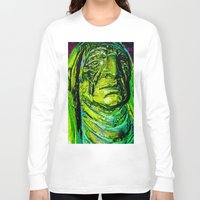 tribal Long Sleeve T-shirts featuring Tribal by Dan Q. Swords