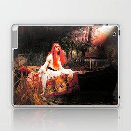 Vivid Retro - The Lady of Shalott Laptop & iPad Skin