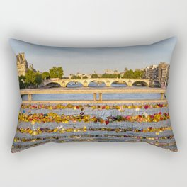 Love padlocks - Paris Rectangular Pillow