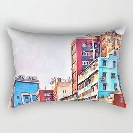 Quarter Three Rectangular Pillow