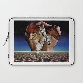 Taming Horses Laptop Sleeve