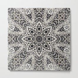 Mehndi Ethnic Style G418 Metal Print